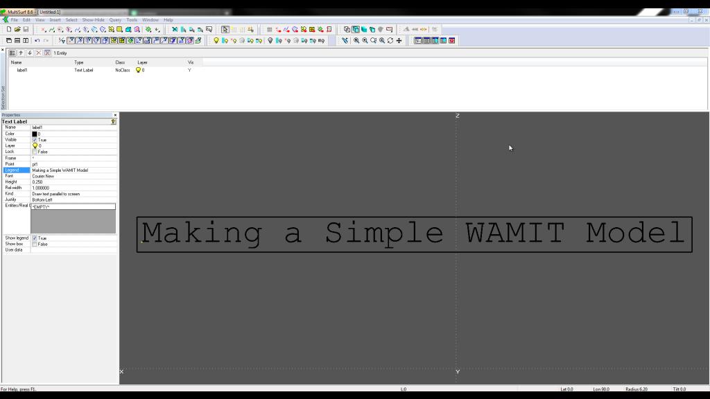 WAMIT Example
